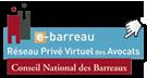Adhérent du Réseau Privé Virtuel des Avocats E-barreau