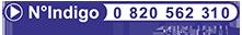 N°Indigo : 0820 562 310
