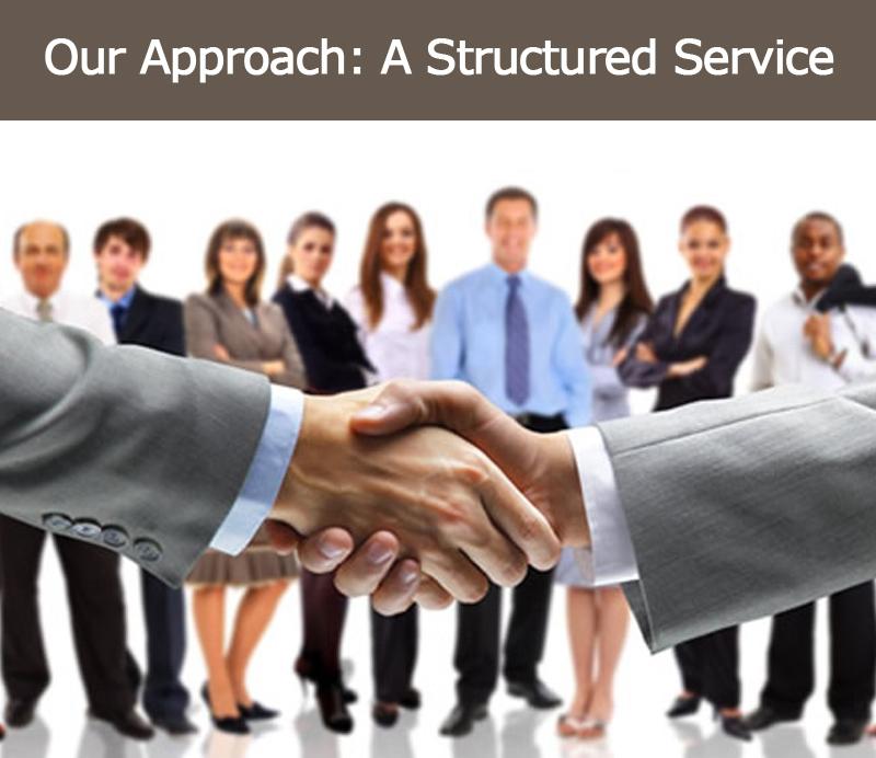 Notre démarche : un service structuré