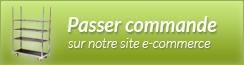 Passer commande sur notre site e-commerce