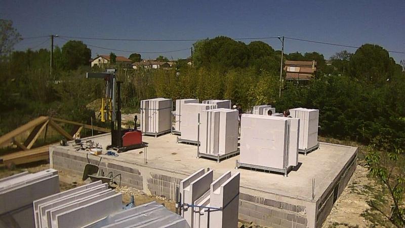 Maison en beton cellulaire allemande greisel ne il y for Maison beton cellulaire
