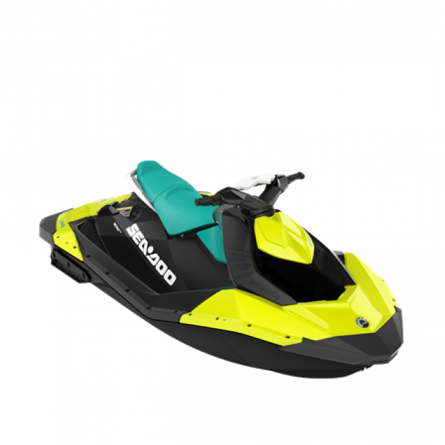 SPARK 60hp 2 up Neon Yellow / Reef Blue