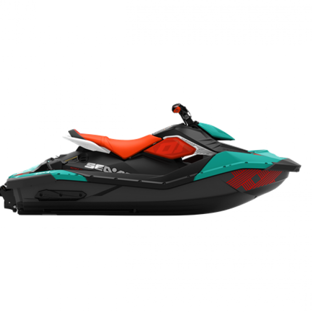 SPARK TRIXX 90hp 2 up iBR Reef Blue / Canam Red