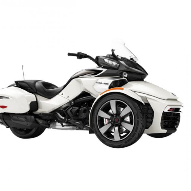 CAN AM F3 T (SE6) Pearl White EUR (Radio)