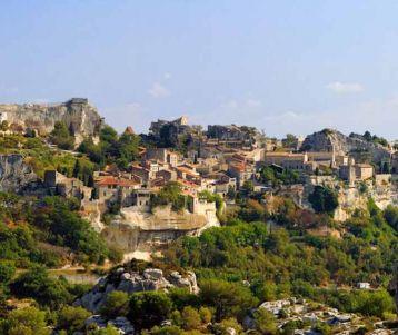 Perched village baux de Provence
