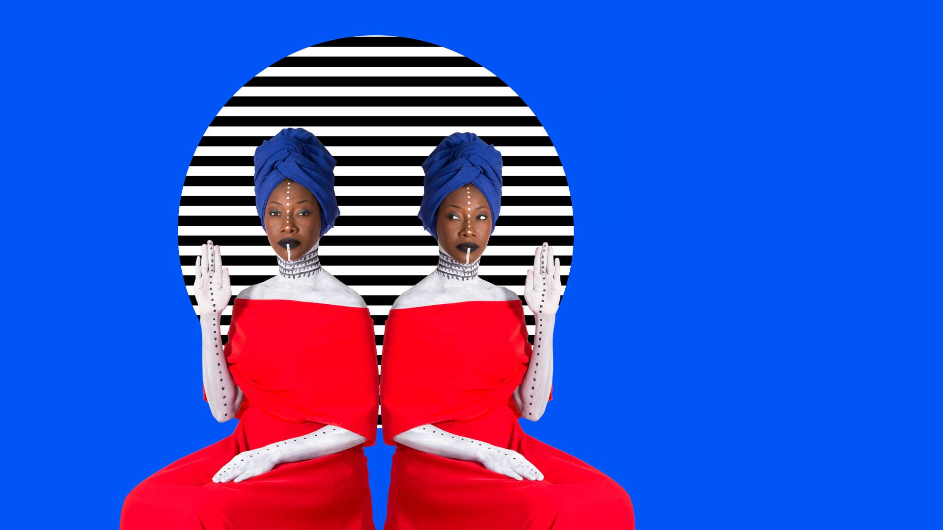 Fatoumata Diawara en concert au Festival Les Suds, à Arles le jeudi 11 juillet 2019
