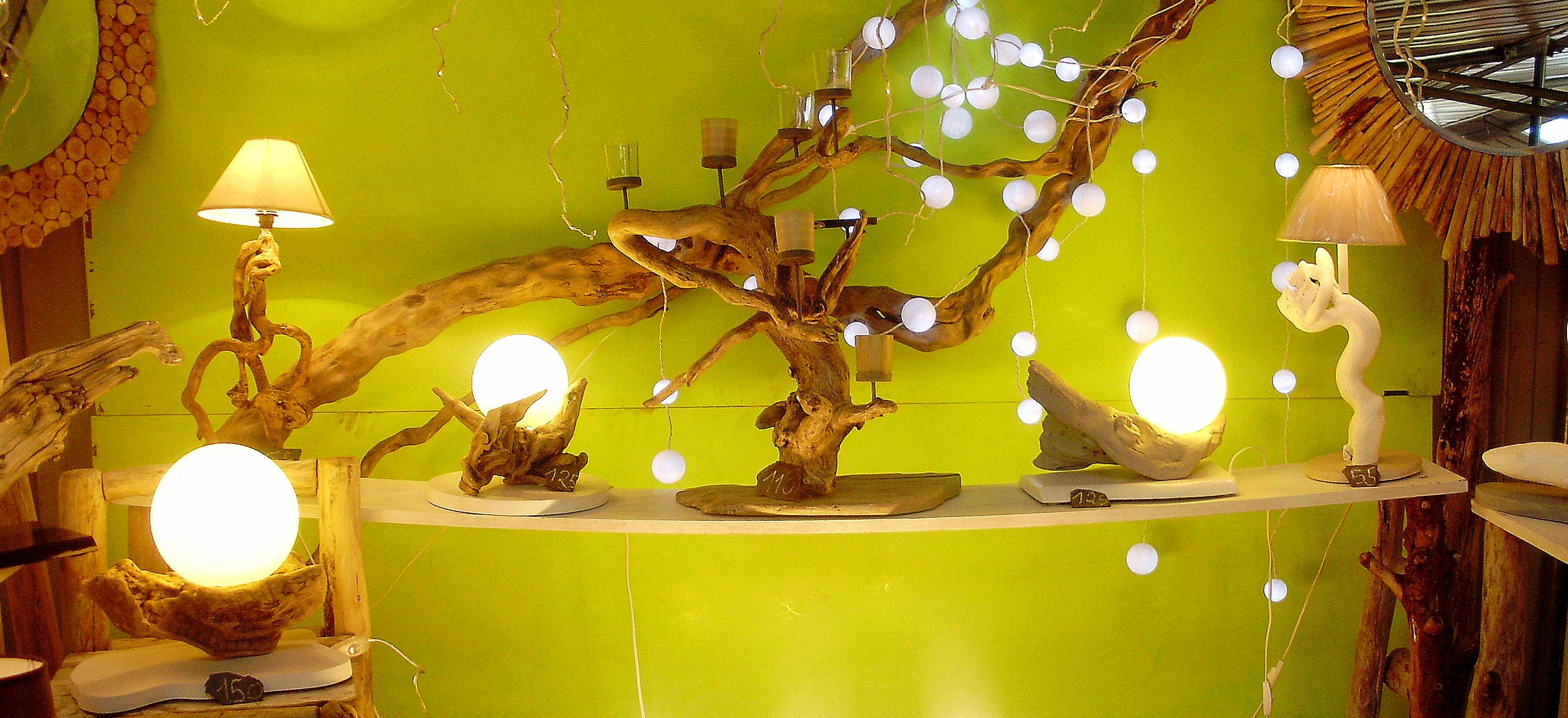Le design au naturel au clair de lune luminaires for L univers du meuble