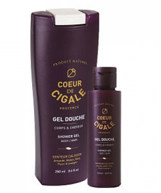 Gel douche 250ml + 100ml