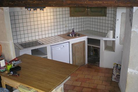 Rénovation cuisine - avant