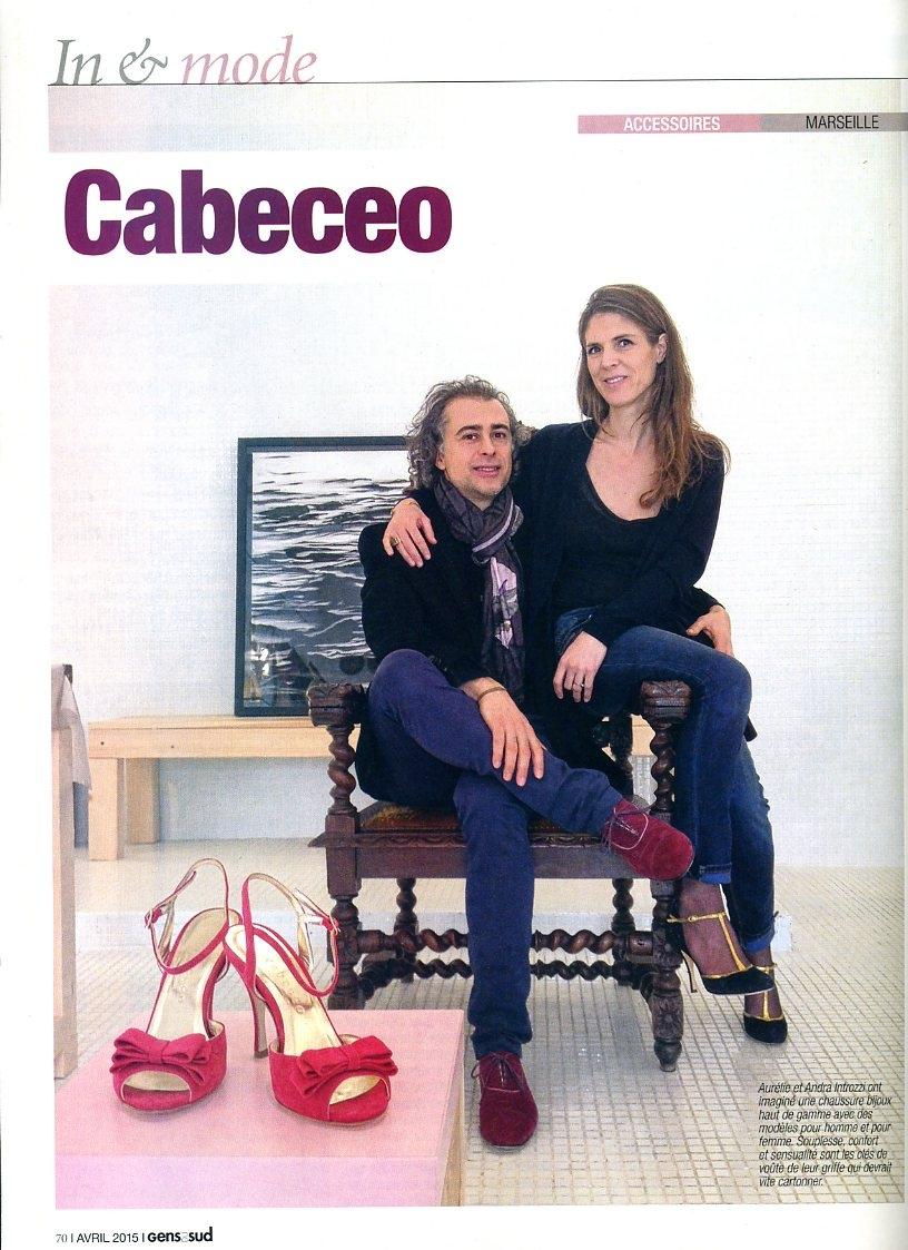 Cabeceo, les chaussures haute-couture