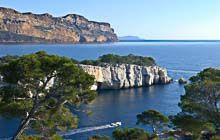 cassis and its calanques mediterranean sea