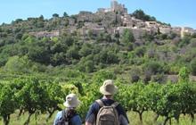 rando velo pied avec guide en provence