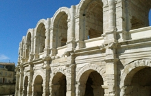 arles roman rome of provence heart of the camargue and provence famous for bullfights