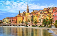 menton walking holidays in france by the french riviera