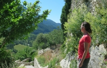 hiking in the mercantour french riviera