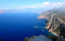 capu Rosso Corsica coastline