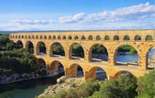 pont du gard nimes uzes collias roman art