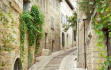 uzes small village of provence saint quentin la poterie