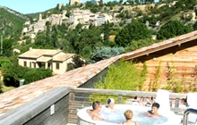 spa montbrun in the lavender