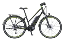 Treat yourself and go for the E-BIKE option !