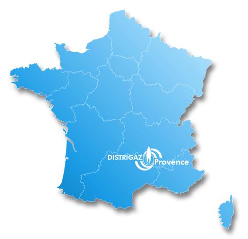 Zone de chalandise sur 8 départements : Hérault (34), le Gard (30), la Drôme (26), le Vaucluse (84), les Bouches du Rhône (13), les Alpes de Haute-Provence (04) et le Var (83)