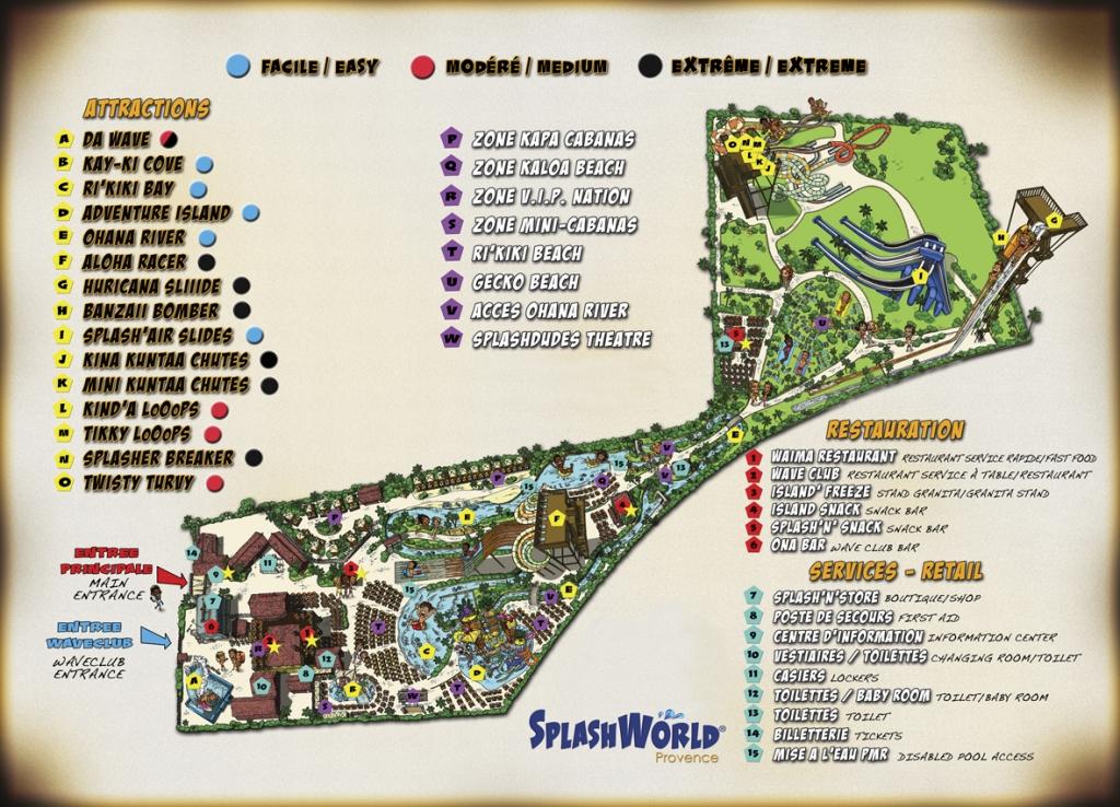 Splashworld Provence parc aquatique de France