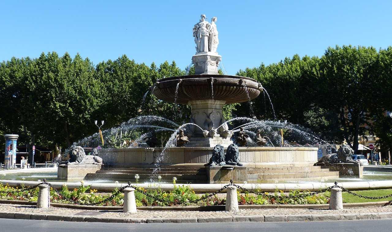 Aix en Provence Fountain