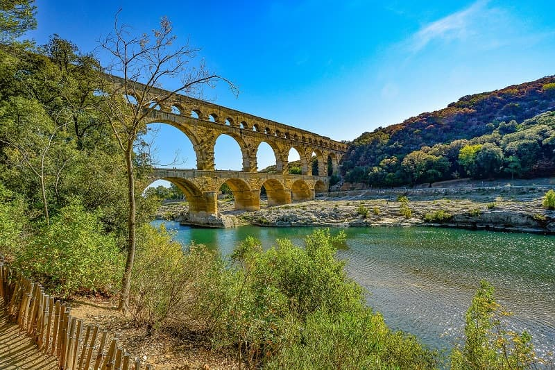 Top things to do in Provence : Pont du Gard Aqueduct