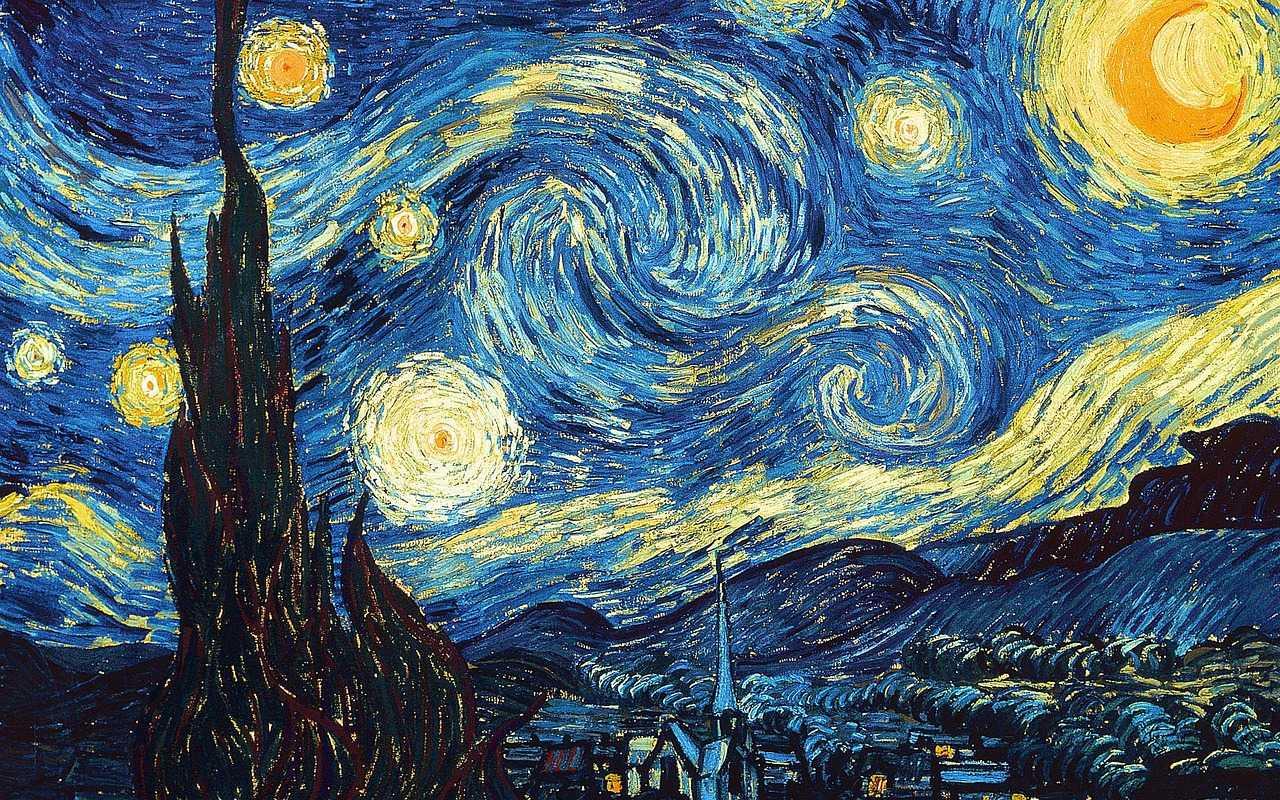 """""""Ciel Etoilé"""" by Van Gogh in St Remy de Provence"""