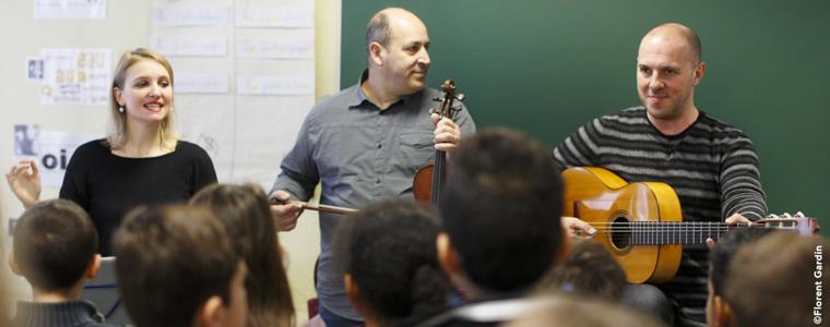 Ateliers de chant choral enfant