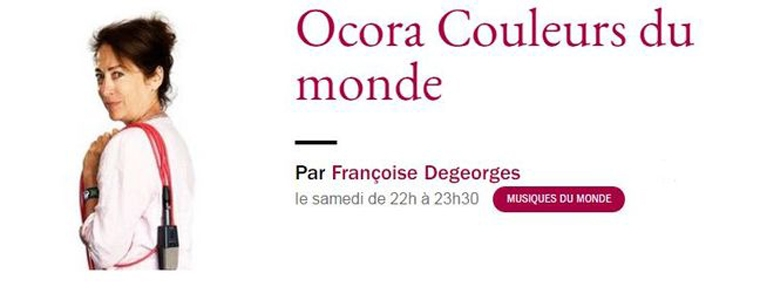 Marie José Justamond et les artistes de la 23e édition dans Ocora Couleurs du Monde sur France Musique