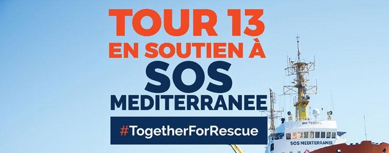 Tour13 en soutien à SOS Méditerranée