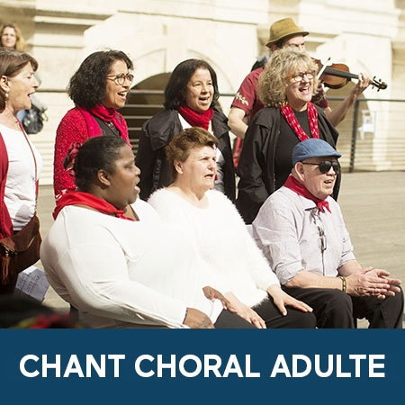 Ateliers chant choral adultes