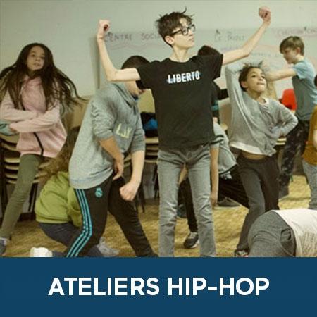 Ateliers hip-hop