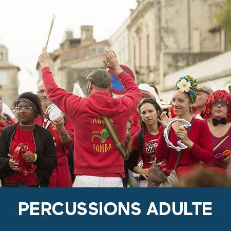 Ateliers de percussions adulte