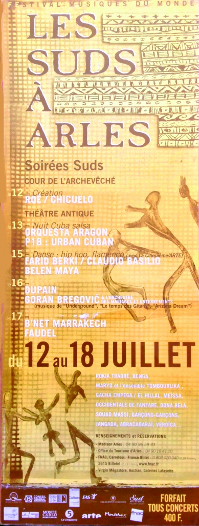 Les Suds à Arles - Affiche 1999