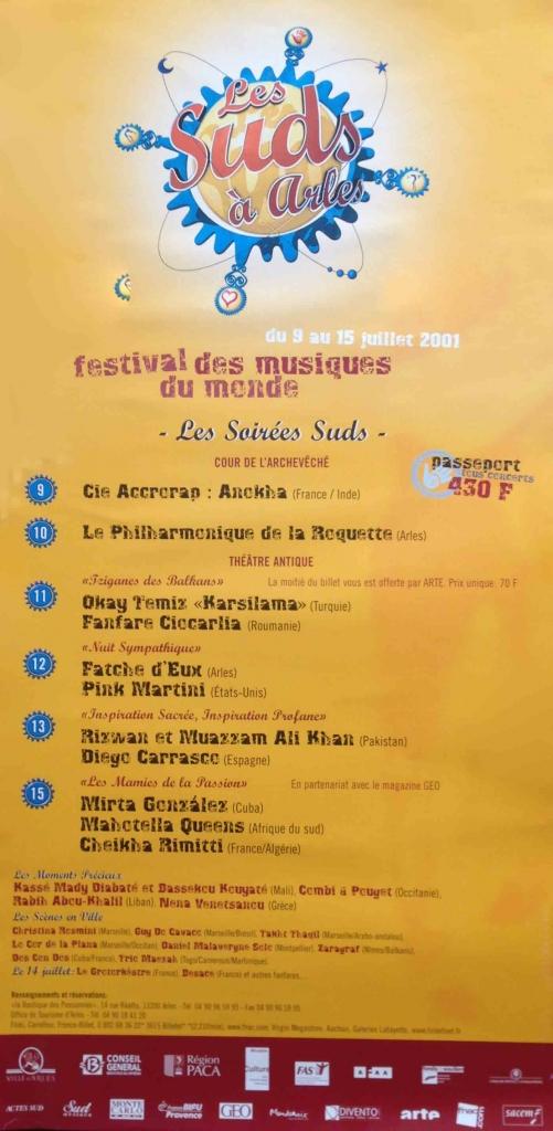 Les Suds à Arles - Affiche 2001