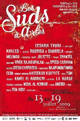Les Suds à Arles - Affiche 2009