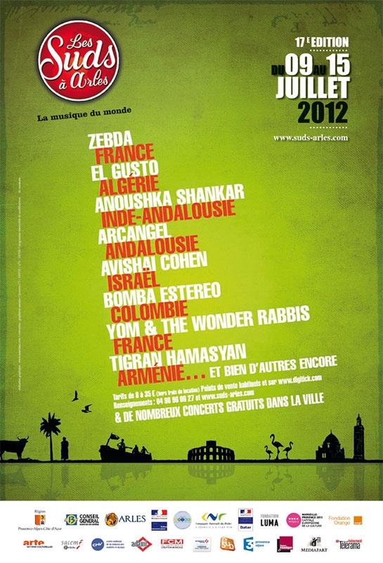 Les Suds à Arles - Affiche 2012