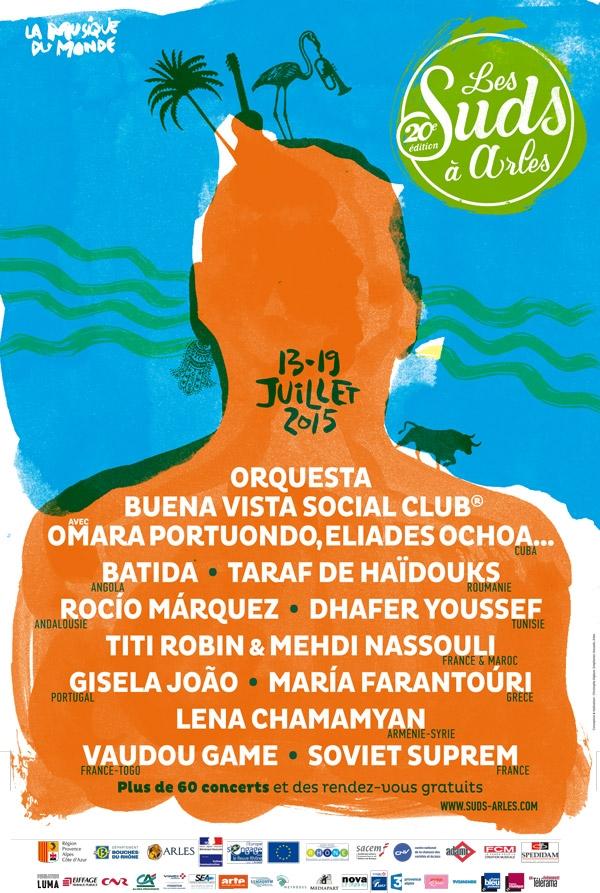 Les Suds à Arles - Affiche 2015