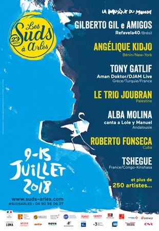 Les Suds à Arles - Affiche 2018