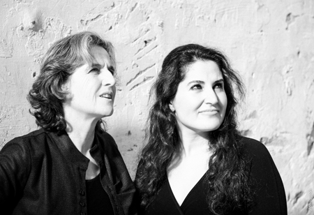 Isabelle Courroy & Shadi Fathi © Ralph Louzon