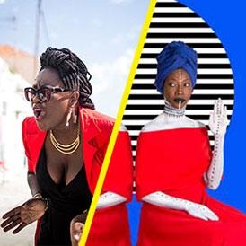 Fatoumata Diawara et Melissa Laveaux © Aida Muluneh © Romain Strapoli