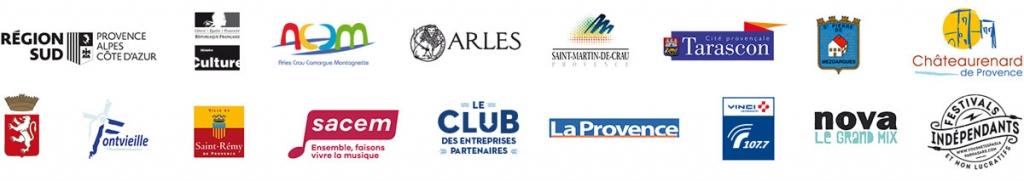Les partenaires du Festival Les Suds, en Hiver 2020