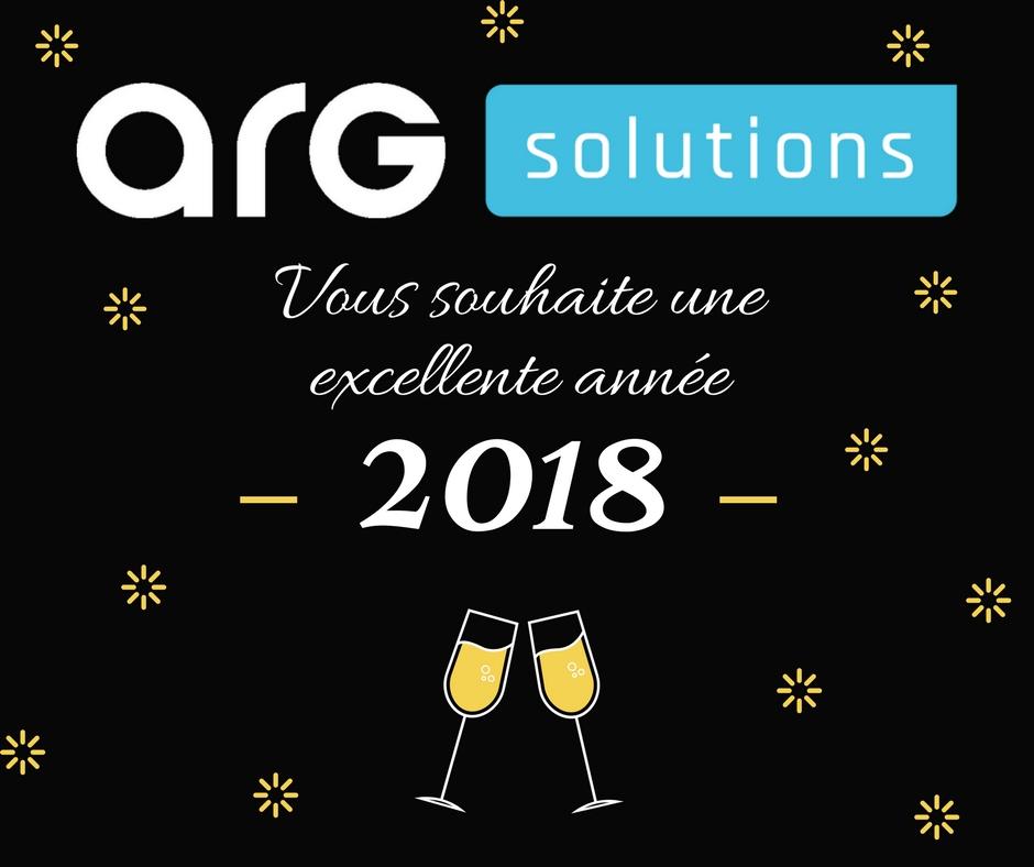 Vœux 2018 ARG Solutions