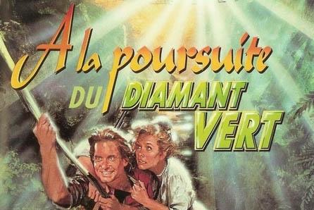 Generique film À la poursuite du diamant vert