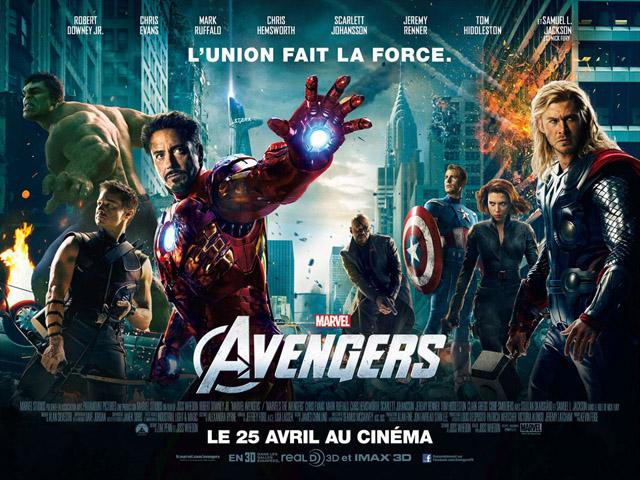 Generique film Avengers Robert Downey Jr Samuel L. Jackson