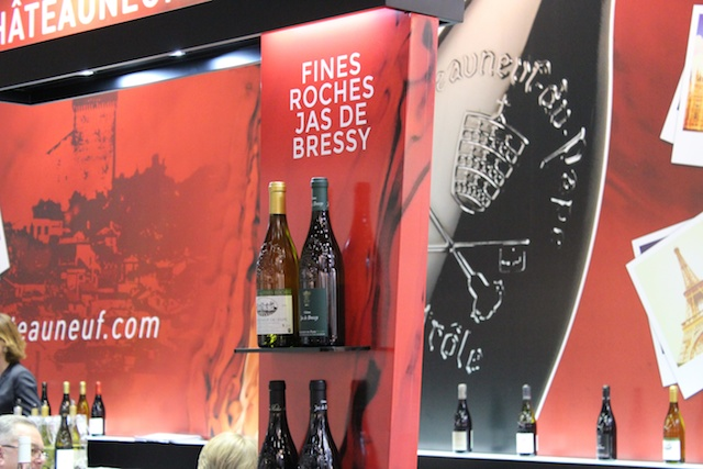 chateauneuf du pape stand prowein