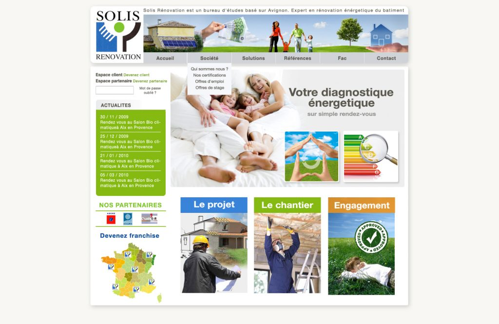 site web solis nenovation