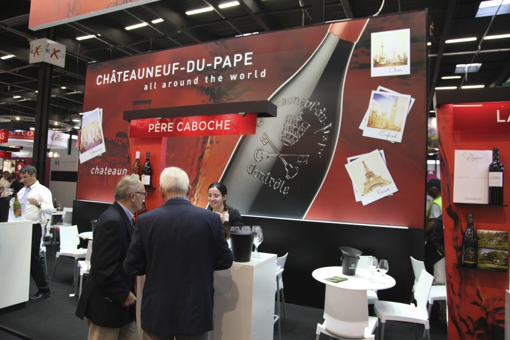 stand chateauneuf du pape vinexpo 2015